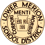 Lower Merion School District seal: latin Corpori Menti Moribus, Veritas