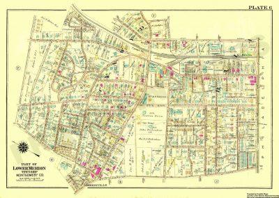 Bala, Cynwyd R.R. Stations (Plate 6)