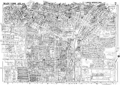 Bala, Cynwyd R.R. Stations (Plate 7)