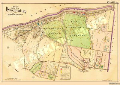 Bala Cynwyd and Belmont Hills (Plate 4)