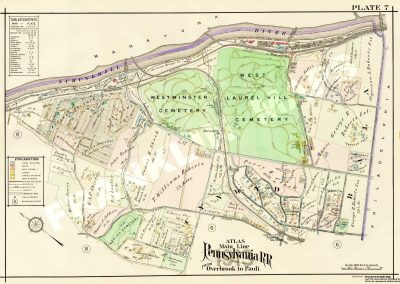 Bala Cynwyd and Belmont Hills (Plate 7)