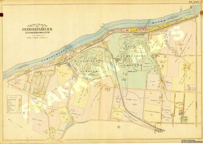 Bala and Belmont Hills (Plate 1)