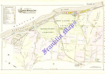 Bala and Belmont Hills (Plate 17)
