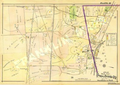 Berwyn R.R. Station (Plate 26)