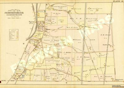 Berwyn R.R. Station (Plate 31)