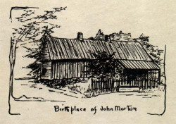 Birthplace of John Morton
