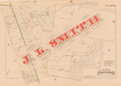 Bryn Mawr R.R. Station (Plate 11)