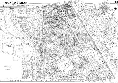 Bryn Mawr R.R. Station (Plate 13)