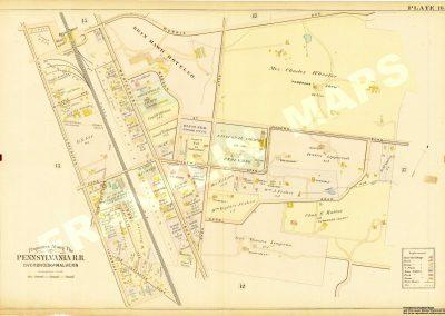 Bryn Mawr R.R. Station (Plate 16)
