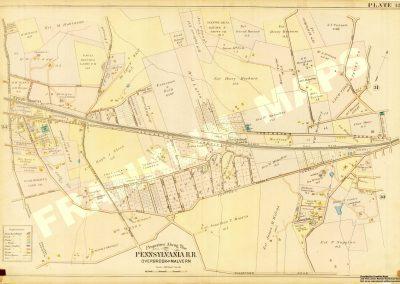 Daylesford R.R. Station (Plate 32)