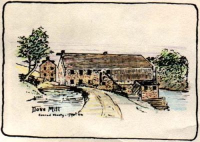 Dove Mill - Conrad Sheetz 1780-1781