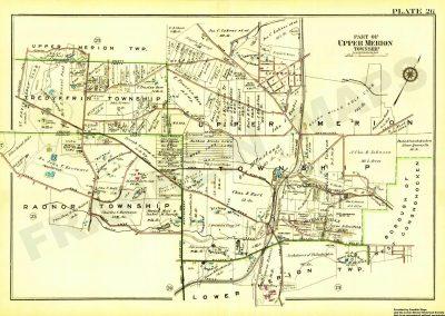 Gulph Creek area (Plate 26)