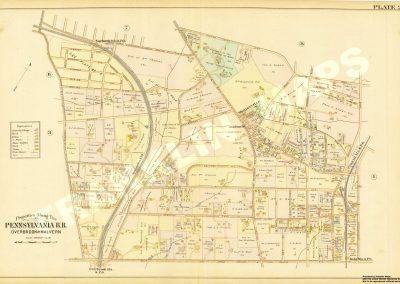 Merion, Cynwyd R.R. Stations (Plate 2)