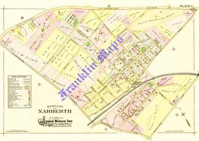 Narberth R.R. Station (Plate 4)