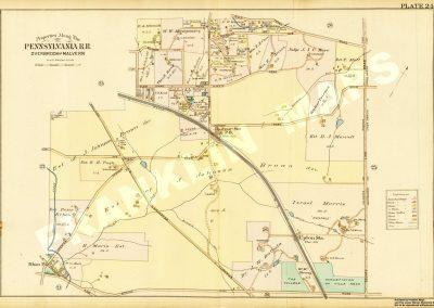 Radnor R.R. Station (Plate 24)