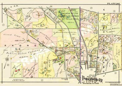 Rosemont, Villanova R.R. Stations (Plate 20)