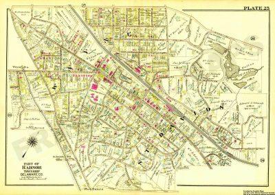 St. Davids, Wayne R.R. Station (Plate 25)
