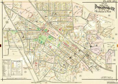 St. Davids- Wayne R.R. Station (Plate 25)