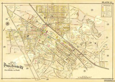 St. Davids, Wayne R.R. Stations (Plate 22)
