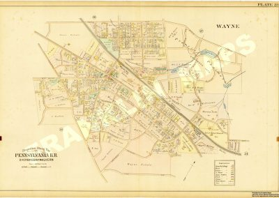 St. Davids, Wayne R.R. Stations (Plate 23)