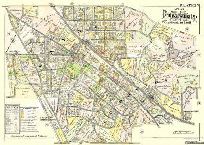 St. Davids, Wayne R.R. Stations (Plate 25)