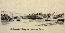 The Schuylkill Bridge at Callowhill Street