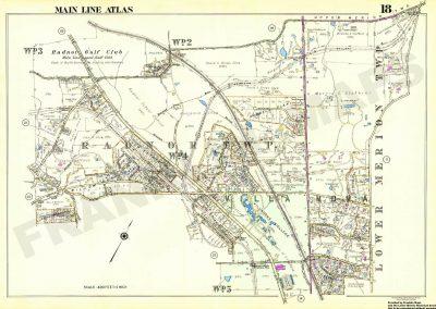 Villanova, Radnor R.R. Stations (Plate 18)
