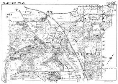 Villanova, Radnor R.R. Stations (Plate 19)