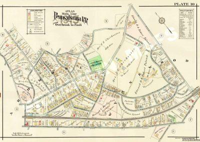 Wynnewood R.R. Station (Plate 10)