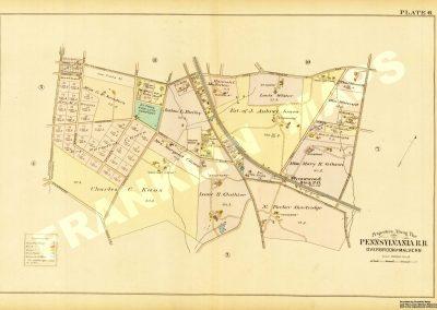 Wynnewood R.R. Station (Plate 6)