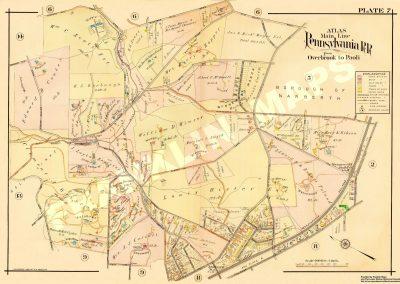 Wynnewood R.R. Station (Plate 7)