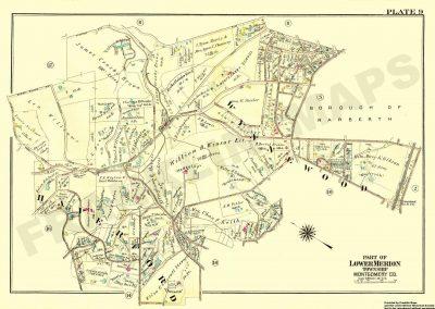 Wynnewood R.R. Station (Plate 9)