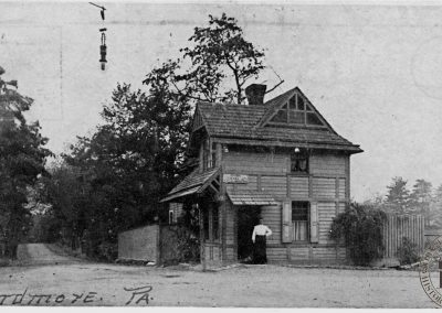 Toll House at Lancaster and City Avenues