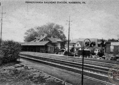 Pennsylvania Railroad Station, Narberth