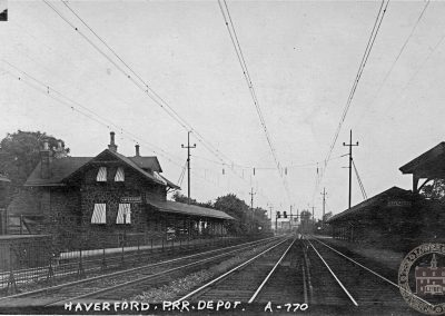 Pennsylvania Railroad Station, Haverford