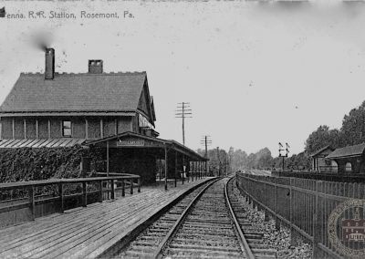 Pennsylvania Railroad Station, Rosemont