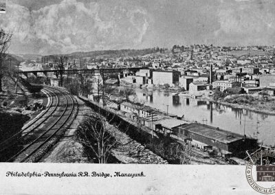 Philadelphia-Pennsylvania Railraod Bridge, Manayunk