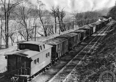 Reading Railroad near Waverly Road, Gladwyne, c. 1946