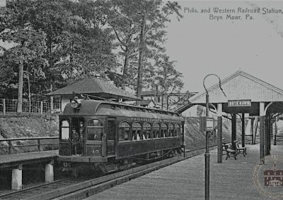 Philadelphia and Western Railroad Station, Bryn Mawr