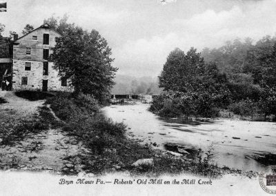The Harriton/Pyle Mill, Mislabeled as Robert's Old Mill, Bryn Mawr