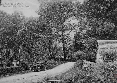 """Ye Olde Grist Mill,"" Ardmore, Built 1746"