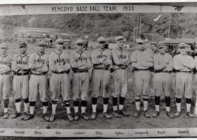Pencoyd Iron Works Baseball Team, 1920