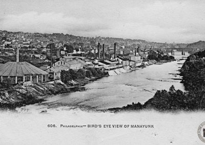 Philadelphia – Bird's Eye View of Manayunk