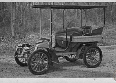 1903 Autocar Postcard Advertisement