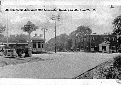 Montgomery Ave and Old Lancaster Road, Old Merionville