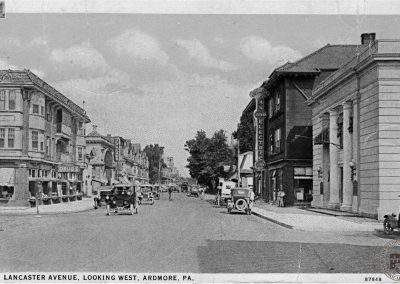 Lancaster Avenue, Looking West, Ardmore