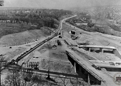 The Schuylkill Expressway Interchange at City Line Avenue