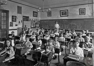 First Grade Class at the Bala Elementary School, 1911