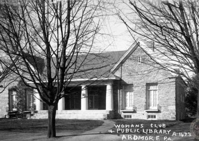 Women's Club and Public Library, Ardmore