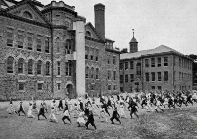 Exercise Class, Ardmore Public School, Ardmore, 1925